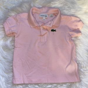 Girls Lacoste Polo Size 1